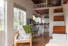 Tiny house van binnen Van Akker Vindt 2015